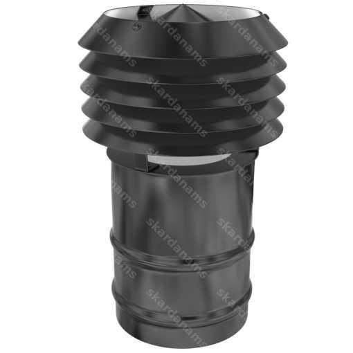 Элемент выхода вентиляции, вентиляционная шапка